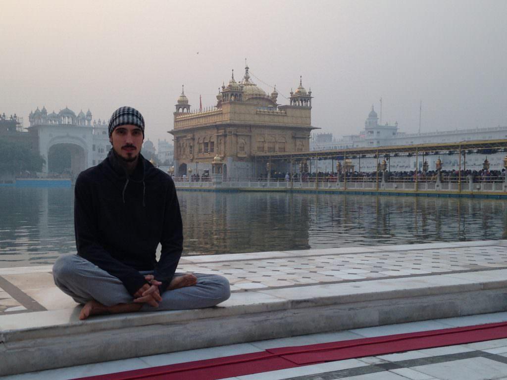 Templo de oro Amritsar, viajar a la India