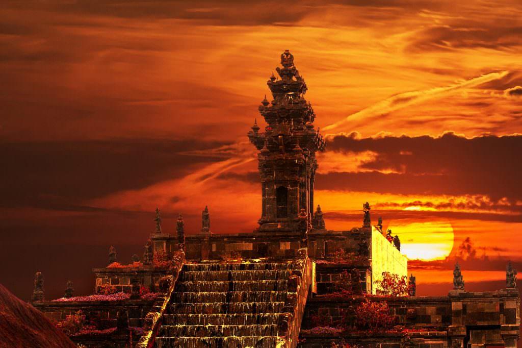 Templo en la India. Viajar a la India