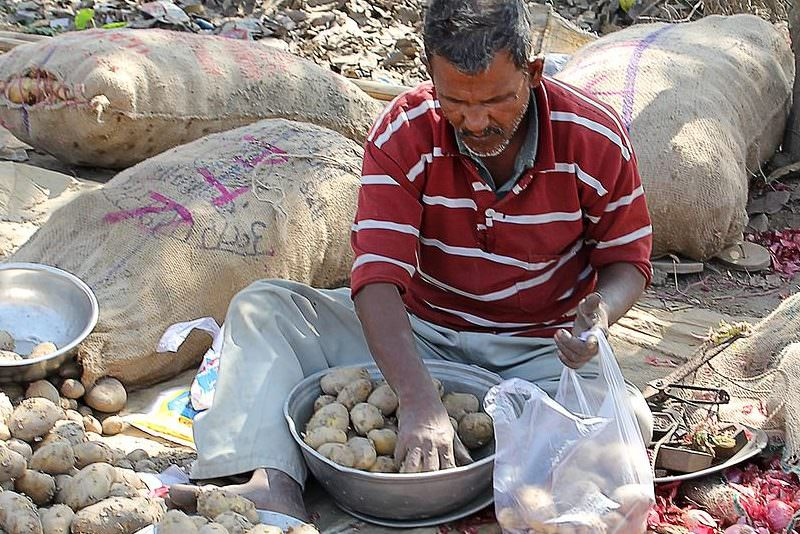 Vendedor de cebollas