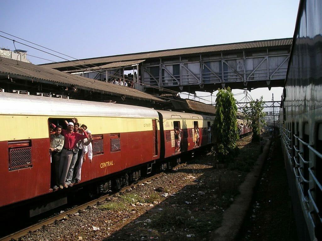 Trenes en la India